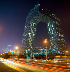 CCTV Headquarter Beijing (Werner Kunz) Tags: ifttt 500px werkunz asia photo urban landscape city werner kunz seibel nikon wide angle photoshop hdr exposure blending dri dynamic range luminosity mask light house cityscape town d800 camera location portfolio time 2015 beijing china dynamicrange exposureblending nikond800 urbanlights wernerkunz wideangle