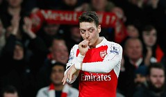 Ozil (MekyCM) Tags: soccer premier league football premierleague england wales britain unitedkingdom arsenal chelsea liverpool mancity united futbol futebol barclays leicester pitch supporters celebration southampton palace westham everton spurs newcastle stoke swansea sunderland watford westbrom bournemouth norwich villa
