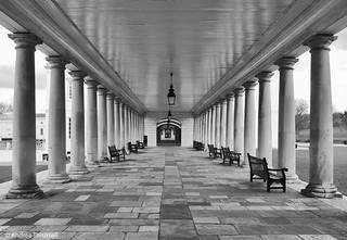 Pillars of Greenwich, London
