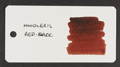 Noodler's Red-Black - Word Card