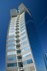 The W-Hotel Barcelona (Anselm11) Tags: barcelona hotel hotelw afsnikkor28300mmf3556gedvr