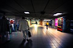 "Bruxelles - Métro ""Porte de Hal"" (Vol 1) (saigneurdeguerre) Tags: brussels 3 station canon europa europe belgium belgique metro mark iii belgië bruxelles ponte 5d porte hal brüssel brussel belgica bruxelas halle belgien stib aponte mivb portedehal hallepoort antonioponte ponteantonio saigneurdeguerre"