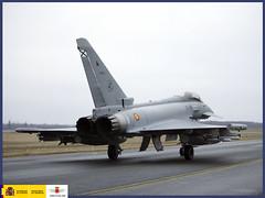 Policía Aérea del Báltico (Ejército del Aire Ministerio de Defensa España) Tags: eurofighter ejércitodelaire estonia ala11 aviation militaraviation fighter aviación caza