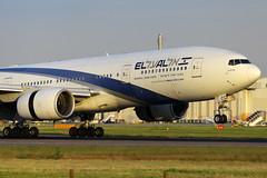 4X-ECC, London Heathrow, June 12th 2014 (Southsea_Matt) Tags: lhr elal boeing777 londonheathrow egll 4xecc