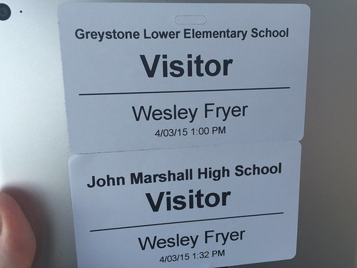 OKC school tour by Wesley Fryer, on Flickr