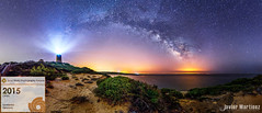 Sony World Photography Awards- Commended Panoramic (Javier Martnez Morn) Tags: world lighthouse way sony contest via awards milky lactea camarinal wpo commended