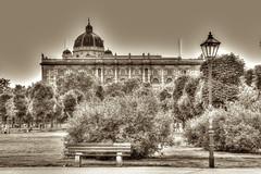 Vienna (socrates197577) Tags: vienna parco primavera sepia austria nikon hdr città