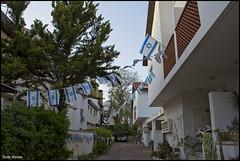 Flags Decoration 3 - Independence Day 67 (Zachi Evenor) Tags: blue white israel flag azure flags banners independenceday  67 israeliflag yomhaatzmaut 2015         flagofisrael  zachievenor