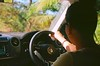 Driving (Clive Somerville) Tags: leica iso100 kodak ektar greentint iiif xraydamagedfilm
