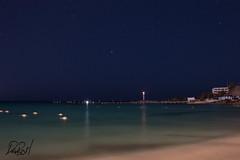 Sin mayor dramatismo (David_Rojo) Tags: nightphotography sea mxico faro mar beacon cancn fotografanocturna davidrojoh
