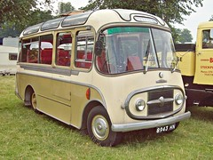 444 Karrier  BFD3023 (1963) (robertknight16) Tags: bus coach british 1960s minibus commer rootes harkers karrier astlepark 8943hn