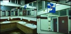 jeu de miroir diptyque (monatrebulle) Tags: reflection diptych reflet miroir diptyque lavatory pictogram lavabo miror sanitation glace pictogramme sanitaires noncoloursincolour