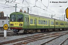 8601 arrives at Connolly, 8/5/15 (hurricanemk1c) Tags: dublin irish train rail railway trains railways dart irishrail 2015 connolly iarnród 8601 éireann iarnródéireann class8600 tokyucarcorp 0957connollygreystones
