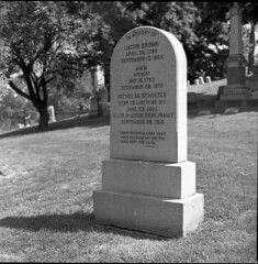 World War I (triebensee) Tags: blackandwhite film monochrome cemetery brooklyn zeiss memorial day greenwood 11 d76 hasselblad carl f28 planar 80mm 500cm selfdeveloped 2015 fujineopanacros100 fujifilmneopanacros100 brooklynian