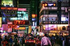 Hong Kong Lights (RaulHudson1986) Tags: street light cars beautiful night hongkong lights asia neon artistic kowloon 2015 canon6d raulhudson1986