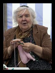 Oh! You bold boy! (Frank Fullard) Tags: street ireland boy portrait irish lady knitting candid knit mayo bold turlough castlebar 6541 fullard scolded frankfullard 20150524