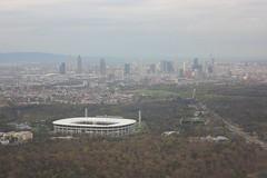 Commerzbank Arena (magro_kr) Tags: frankfurt niemcy germany deutschland hesja hesse hessen krajobraz widok landscape view skyline cityscape stadium bundesliga soccer