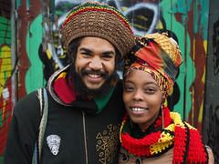 Malcolm and Lunah (jeffcbowen) Tags: street portrait toronto malcolm stranger kensingtonmarket lunah thehumanfamily