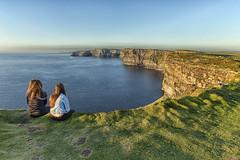 Mirada al infinito (juanjoleal) Tags: ireland sunset sea seascape relax mar paisaje moher irlanda acantilados
