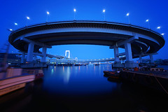 Bluemoment@Shinagawa_01 (Ripple design) Tags: sony voigtlaender citylights shinagawa 12mm bluemoment 7r