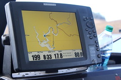 GIS Display at New Melones Reservoir