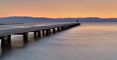 (Jona Mago) Tags: deltebre playadeltrabucador cataluña catalonia españa spain atardecer nikon nikond610 nikon1735mm28 hitechfilters largaexposición longexposure embarcadero pier cielo sky sunrise