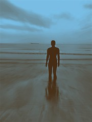 Reflections (daisyglade) Tags: sculpture may marmalade antonygormley 2016 anotherplace crosbybeach artforthepeople reflectionsofmylife 100castironlifesizefigures castsoftheartistsownbody