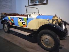 "Unic (1920) 4 cyl., 25HP, 2600cc ""Sonia Delaunay"" France (Mount Fuji Man) Tags: 1920s car museum malaga automobilemuseum 1920scars museoautomovilisticodemálaga"