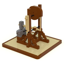 hammer1 (ravescat) Tags: wheel hammer tank lego da historical leonardo vinci weapons moc