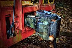 Railroad knuckle coupler (BDM17) Tags: railroad car train knuckle rail coupler drawbar
