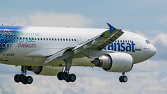 Airbus A310-304 Air Transat (C-GTSY) - YUL (Sylvain C-G ) Tags: plane nikon air landing final planes airbus ts 310 spotting yul tsc transat a310 aricraft cyul avgeek 310304 a310304 planspotting cgtsy d5300