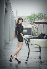 jaylin-0078 ( Jaylin) Tags: travel portrait stockings girl outside ol photo airport model women uniform open library longhair taiwan olympus lookout heels taipei sailor mirco omd pepole hight m43 mzd jelin linjay