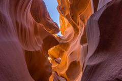 Lower Antelope Canyon (s13_eisbaer) Tags: red arizona orange usa texture rock sandstone earth canyon page limestone lightbeams slotcanyon antelopecanyon lowerantelopecanyon