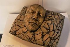 Fractured Sleep (skipmoore) Tags: sculpture face artist sausalito winteropenstudios