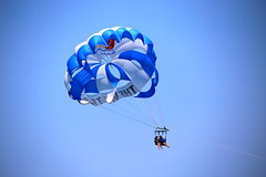 Photo of the Day Project, June 26, 2016: Parasailing over the Atlantic Ocean and Manasquan Beach. (apardavila) Tags: jerseyshore parasailing manasquan manasquanbeach