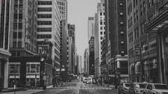 Empire State of Mind (BeyondThePrism) Tags: street york city nyc newyorkcity newyork streets skyline vanishingpoint long downtown cityscape skyscrapers streetphotography madison vanishing et citycentre madisonavenue the whiteblack streetsnew streetscity nycstreetsnyc streetsbeyond prismwwwbeyondtheprismcombeyondprismblack whiteblackbwnikonnikon d600noir blancnbmorningmidtownuptowndrivingwalkingcrossingtrafficcarscaremptyempty