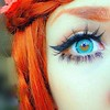 Boho (nashaonara) Tags: eye redhead hippie boho gyaru