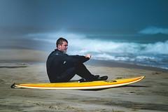 Beach Haven - Skimming & Surfing (DJawZ) Tags: ocean blue beach water surf waves atlantic skimboarding skim skimming