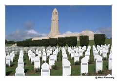 Douaumont (The Beer Monk & Railway Addict) Tags: war fort krieg frieden guerre paix cimetire verdun weltkrieg mmoire mmorial ossuaire douaumont guerremondiale