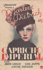 Capricho imperial_1 (Kirby York) Tags: classic cine marlene posters movies carteles dietrich clasico programasdemano