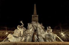 DSC_5636 (al essandro) Tags: italy rome roma fountain nikon italia 14 mm piazza fontana bernini rom italie navona samyang