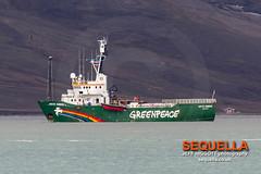Greenpeace - Arctic Sunrise (Jeff Higgott (Sequella.co.uk) - 2 million views!) Tags: svalbard spitsbergen longyearbyen