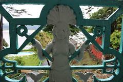 Mermaid (Epochend) Tags: blue white wales rail portmeirion railing mermaid