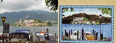 Doppia isola di San Giulio -- Lago d'Orta (No) Piemonte, Italia (frank28883) Tags: ceramica piastrelle lagodorta ortasee lacustre novara imbarcadero lakeoforta cusio isoladisangiulio ortasangiulio