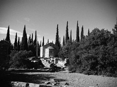 old church. (Michail L.) Tags: church copyrighted copyright cameraphone urban michaillazarou mobile macedonia magagr bw blackandwhite blanconero bianconero android street greece hellas huawei macedoniagreece macedonian makedonia timeless