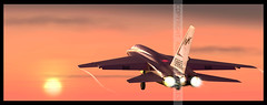 RA-5C Vigilante of RVAH-1 Launching from US Enterprise (aircraftprofiles.net) Tags: enterprise a5 vigilante ra5c rvah1 aircraftprofilesnet