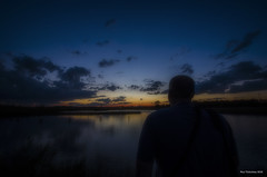 Thinking Of Someone Far Away. LaSalle, ON. (Pat86) Tags: sunset clouds pond lasalle lonely photooftheday