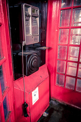 Disconnection (London Lights) Tags: londonlights disconnection london lights londres londra red telephonebox nikon tion