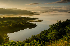 Loch Sunart Dawn (Peter Quinn1) Tags: ardnamurchan scotland lochsunart dawn sunrise mist reflections