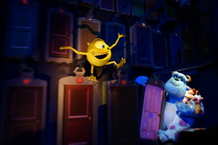 Mike, Sulley and Boo (Disney, Indiana) Tags: disneyland darkride